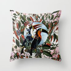 TOUCANS Throw Pillow