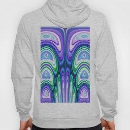 487 - Abstract colour design Hoody