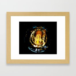 Industrial Filament Light Framed Art Print