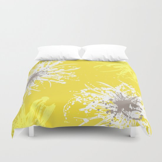 Sunflower Sprinkle Duvet Cover