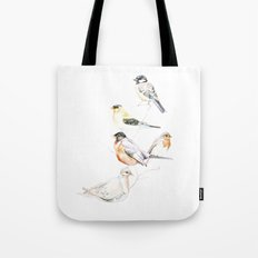 Birds of the Midwest Tote Bag