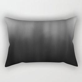charcoal ombre Rectangular Pillow