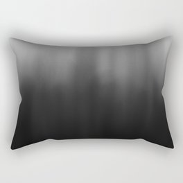 charcoal ombre Rectangular Pillow
