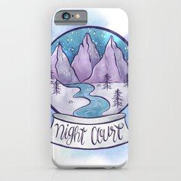 NIGHT COURT SNOW GLOBE iPhone Case