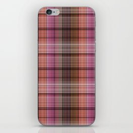 Pattern the cage 1 .  Pink , brown. iPhone Skin