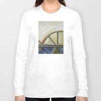 bridge Long Sleeve T-shirts featuring Bridge by Vilnis Klints