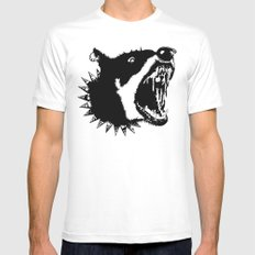 Gypsys Dog Mens Fitted Tee MEDIUM White