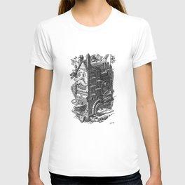 Hipster Spacecraft T-shirt