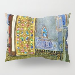 Near-Eastern Palace Interior Portrait by Louis Comfort Tiffany Pillow Sham
