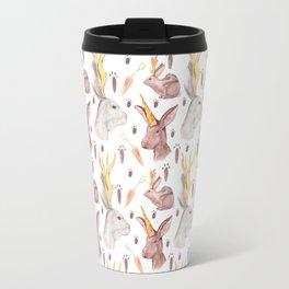 Mythical Rabbits Travel Mug