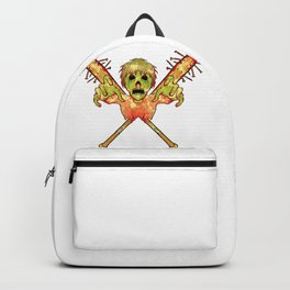 Halloween Ghost Of Child Backpack