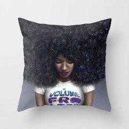 Volume Fro Life Throw Pillow