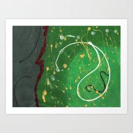 Golf Adventures Art Print