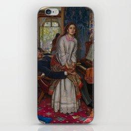 William Holman Hunt - The Awakening Conscience, Tate Britain iPhone Skin