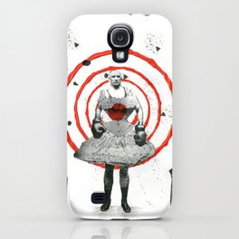 Woman with stones iPhone Case