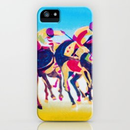 The Melbourne Cup    AUSTRALIA        by Kay Lipton iPhone Case