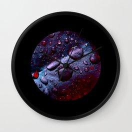 lily pad XIII Wall Clock