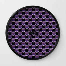 Trippy Cabbage Patch Wall Clock