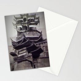 Charcoal Tradition Stationery Cards