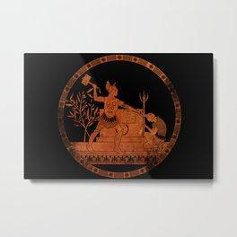 Greek Style Thor Metal Print