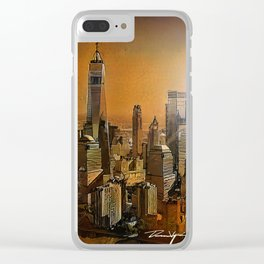 New York Dawn Clear iPhone Case