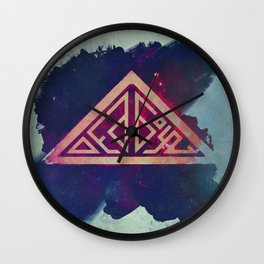 Ded Boyz Logo Painted Wall Clock