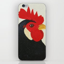 Man of the Roost iPhone Skin