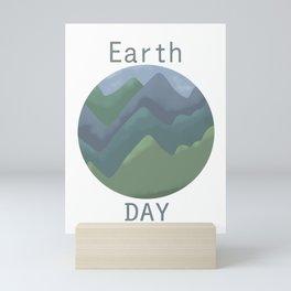 Earth day  Mini Art Print