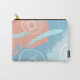 Orange blue fantasy Carry-All Pouch