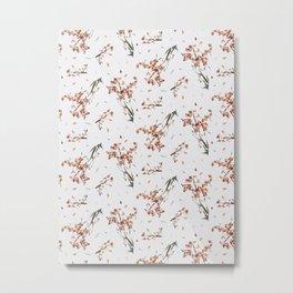 Feelings of fall_2 pattern Metal Print