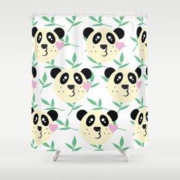 WWF Panda Donations Shower Curtain