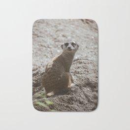 Spooked Meerkat Bath Mat