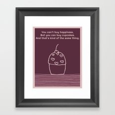 Happiness is.... Framed Art Print