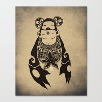 transformer Canvas Prints featuring Transformer by THEY77