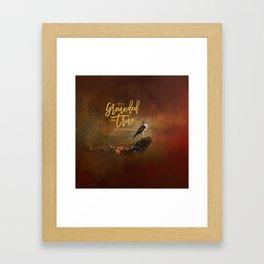 Ground Level Framed Art Print