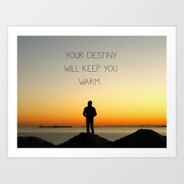 Try Not to Worry... Art Print