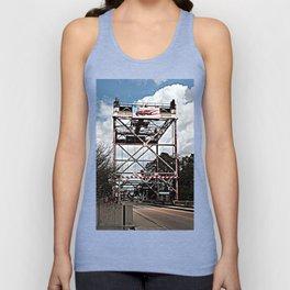 Le Pont de Pont Breaux (The Bridge of Breaux Bridge) Unisex Tank Top