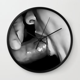 NSFW! Adult content! Cartoon sex play, deep, deep, even deeper Wall Clock