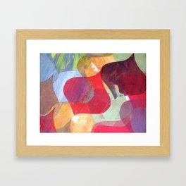 Ogee Print Framed Art Print