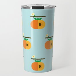 Fruit: Persimmon Travel Mug