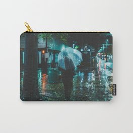 Walking Down Street - Memphis Photo Print Carry-All Pouch