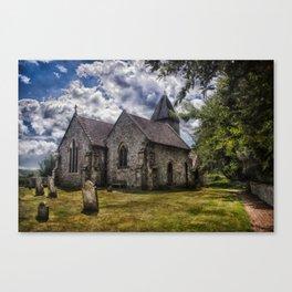 Streat Church Canvas Print