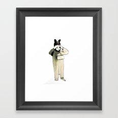 2nd Prize Framed Art Print