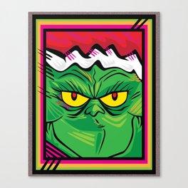 xGRINCHx Canvas Print