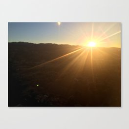 Calistoga Sunrise Canvas Print