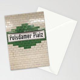 Berlin U-Bahn Memories - Potsdamer Platz Stationery Cards