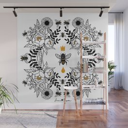 Queen Bee Wall Mural
