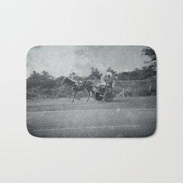 Horse and Cart in Cuba Bath Mat