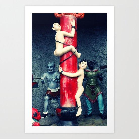 After Death (Hell) Art Print