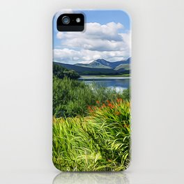 Snowdon View iPhone Case